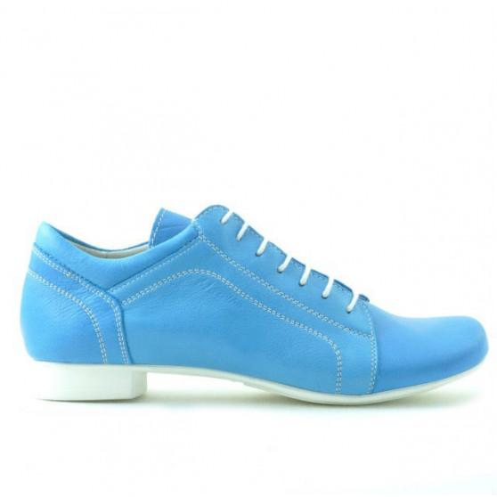 Pantofi casual dama 645 turcoaz