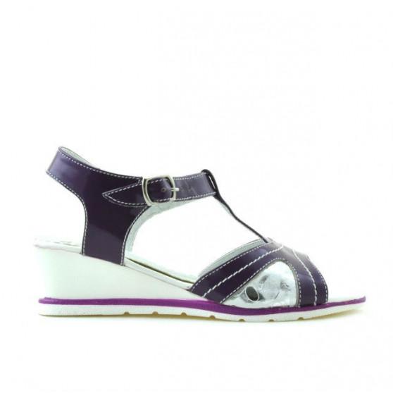 Children sandals 533 patent purple combined