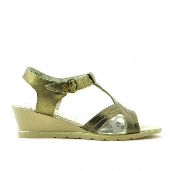 Sandale copii 533 auriu combinat