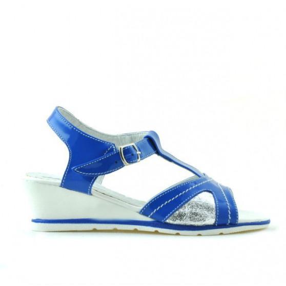 Sandale copii 533 lac indigo combinat