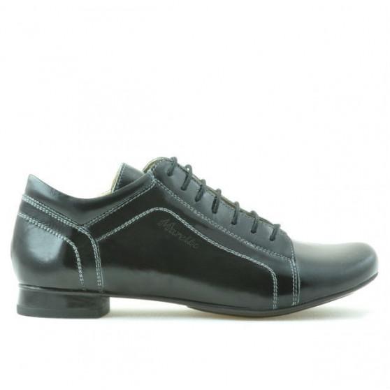 Pantofi casual dama 645 lac negru