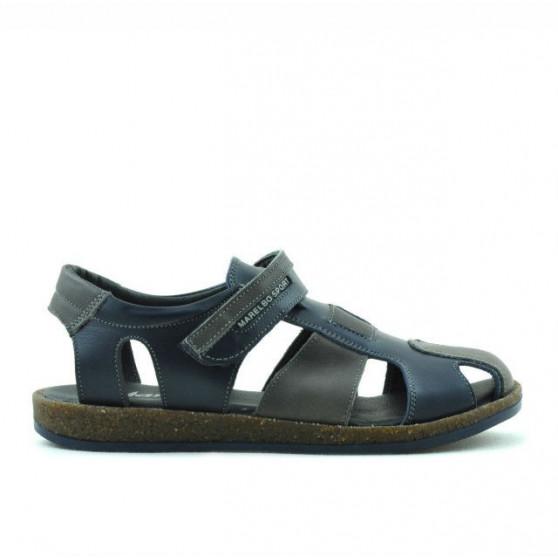 Sandale copii 324 indigo+gri