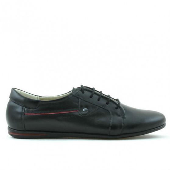 Pantofi sport / casual dama 646 negru+rosu