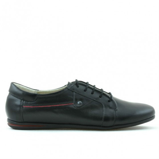 Women casual, sport shoes 646 black+red