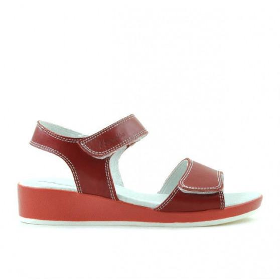 Children sandals 532 red