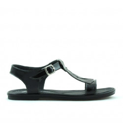 Children sandals 534 patent black