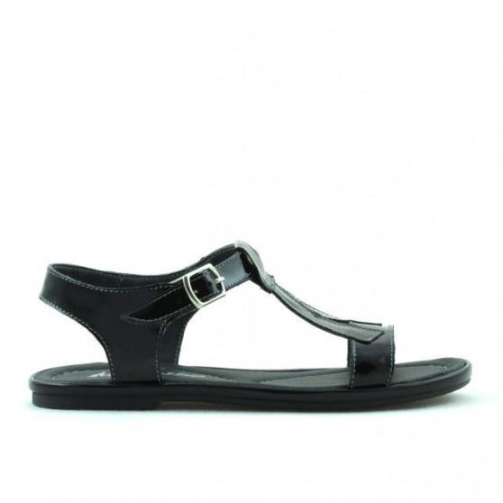 Sandale copii 534 lac negru
