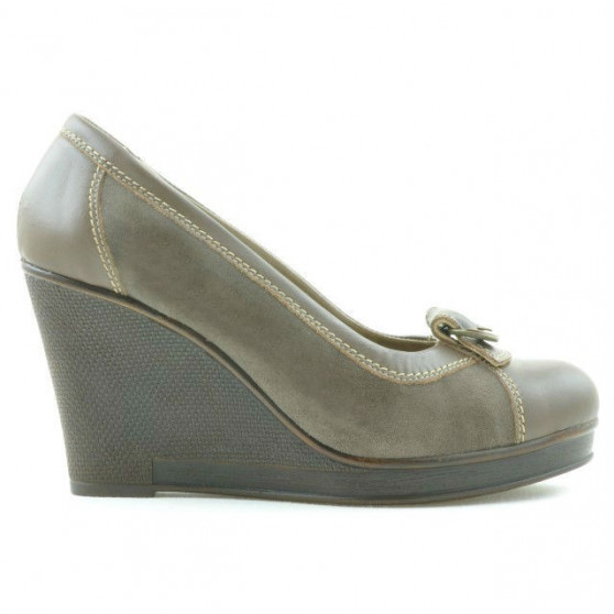 Women casual shoes 178 cappuccino combined