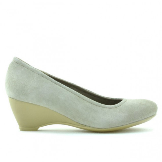 Women casual shoes 152-1 sand velour