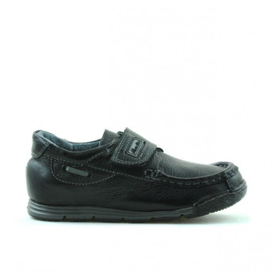 Small children shoes 01c black ( nu se ma fabrica)