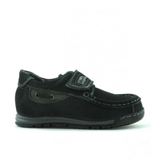 Pantofi copii mici 01c bufo negru