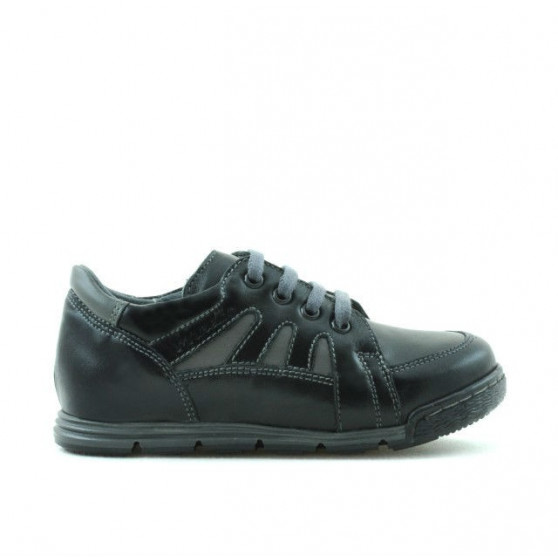 Small children shoes 04c black+gray