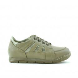 Pantofi copii mici 04c nisip combinat