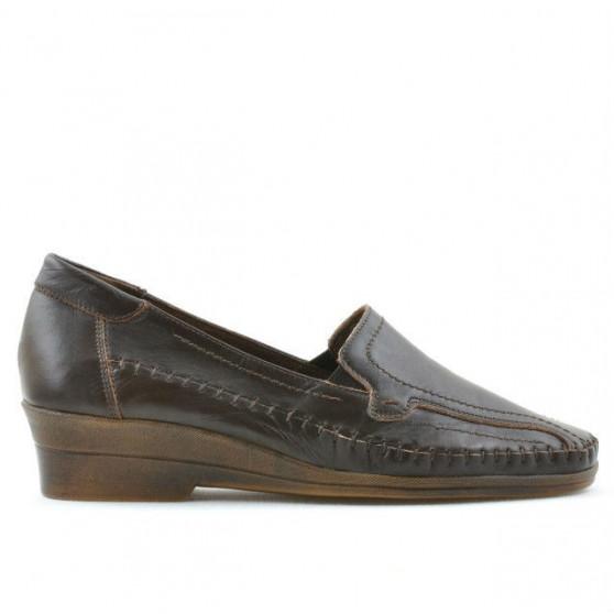 Women casual shoes 673 brown