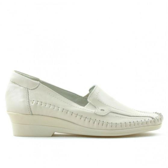 Pantofi casual dama 673 bej