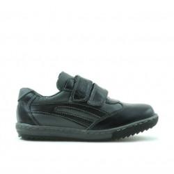 Pantofi copii mici 16c negru+gri