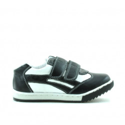 Small children shoes 16c black+white