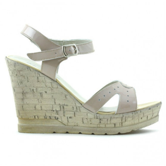 Sandale dama 5021 lac nude