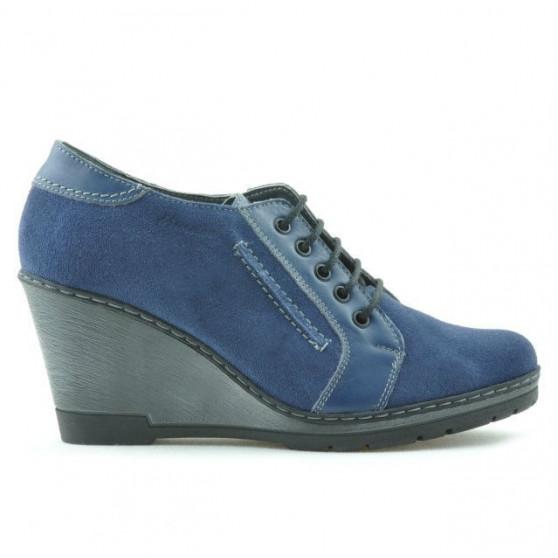 Women casual shoes 625 indigo velour combined