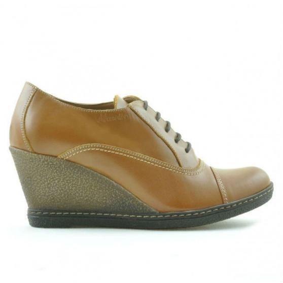 Pantofi casual dama 609 maro cerat
