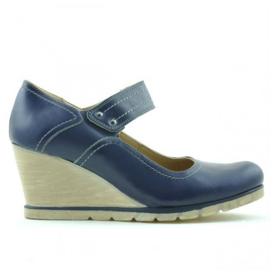 Pantofi casual dama 199 indigo