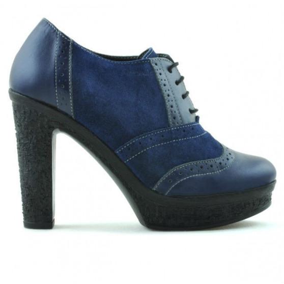 Women casual shoes 637 indigo combined