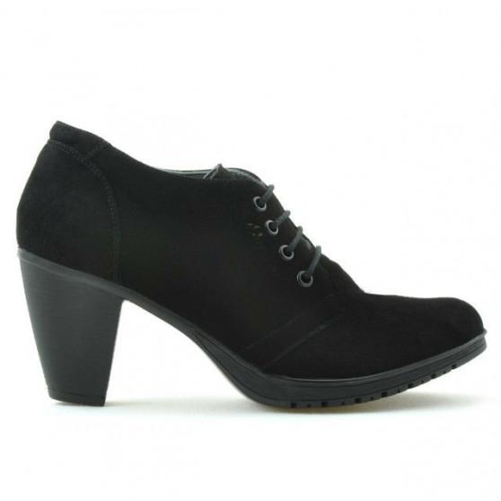 Women casual shoes 167 black velour