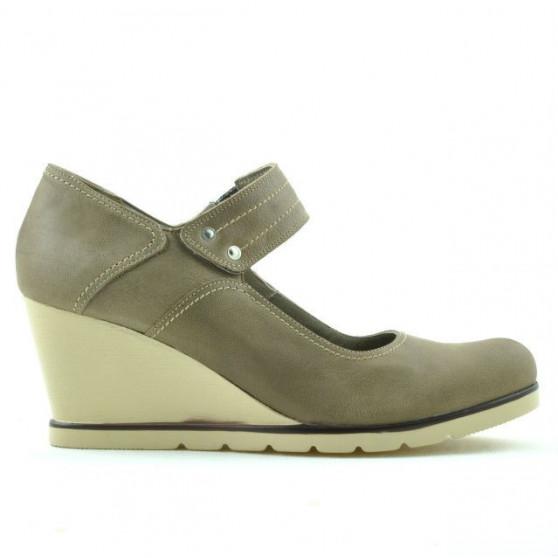 Pantofi casual dama 199 capucino
