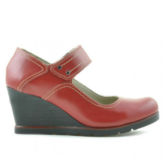 Pantofi casual dama 199 rosu