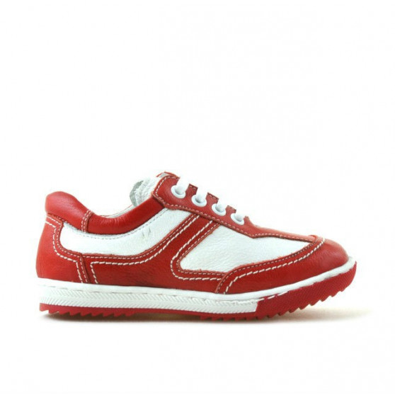 Pantofi copii mici 15c rosu+alb