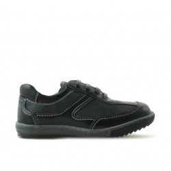 Pantofi copii mici 15c negru+gri