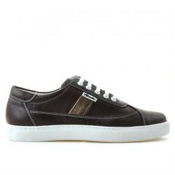 Pantofi sport dama 657 bordo