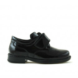 Small children shoes 14c patent black