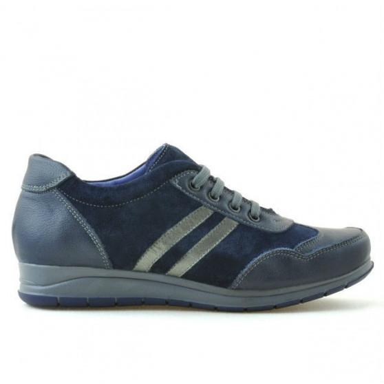 Pantofi sport dama 641 indigo combinat