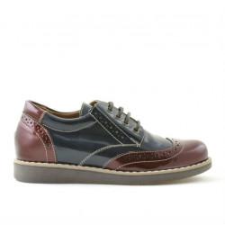 Children shoes 154 patent bordo combined
