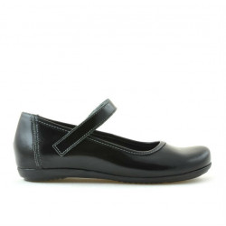 Pantofi copii 151 lac negru