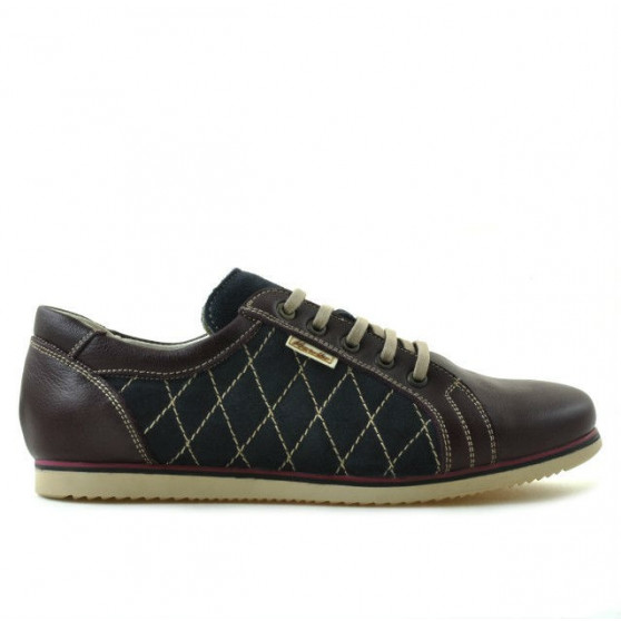Women sport shoes 648 bordo+indigo