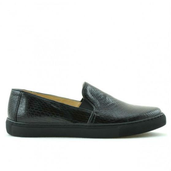 Pantofi sport dama 658 croco bordo