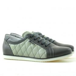 Pantofi sport dama 648 gri combinat