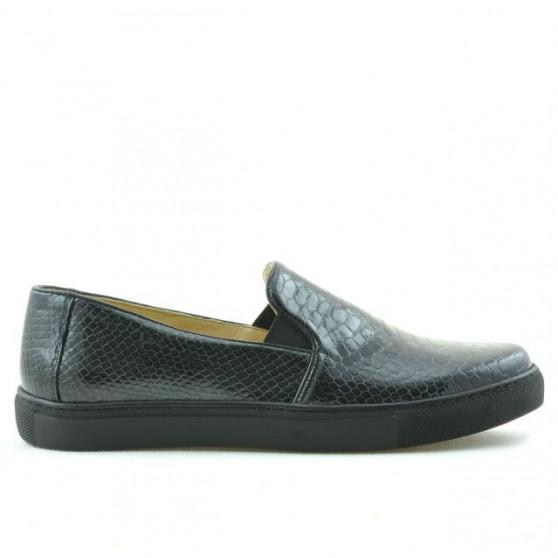 Women sport shoes 658 croco indigo