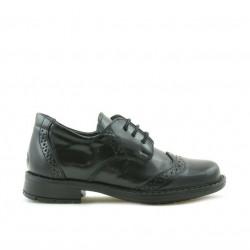 Pantofi copii mici 52c negru florantic