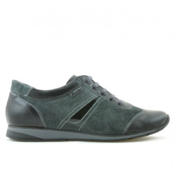 Women sport shoes 196 black+gray