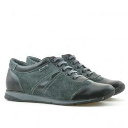 Women sport shoes 196 black+gray