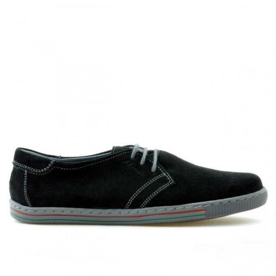 Women sport shoes 623 black velour