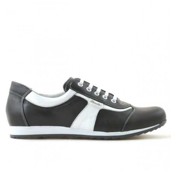 Women sport shoes 191 gray+white