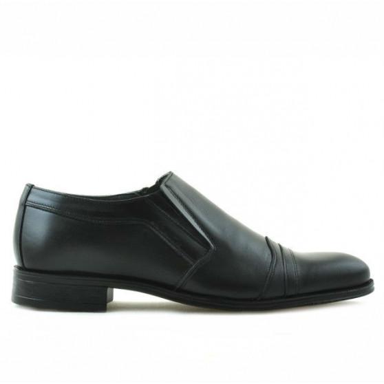 Pantofi eleganti adolescenti 389 lac gri combinat