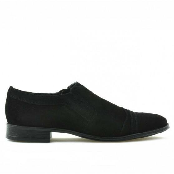Pantofi eleganti adolescenti 389 negru velur