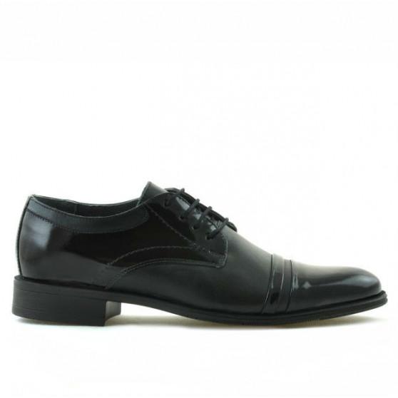 Teenagers stylish, elegant shoes 391 patent black combined