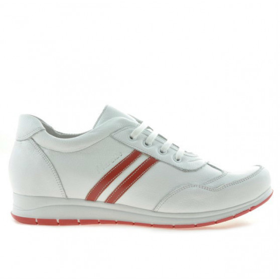 Women sport shoes 641 white+red