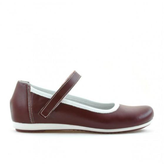 Children shoes 151 bordo